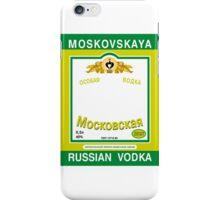 Russian Vodka iPhone Case/Skin