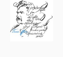 Mark Twain Picture Quote - The Right Word Unisex T-Shirt
