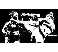 Holly Holms vs. Ronda Rousey Photographic Print