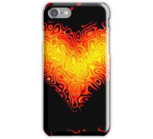 Flame Heart iPhone Case/Skin