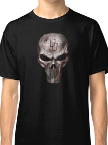 The Punisher with Daredevil inscription Classic T-Shirt