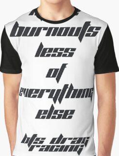 BTS Drag Racing Graphic T-Shirt