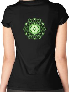 Heart Chakra Women's Fitted Scoop T-Shirt