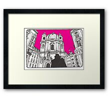 Vienna by horse Framed Print