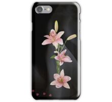 Hearts and Lilies iPhone Case/Skin