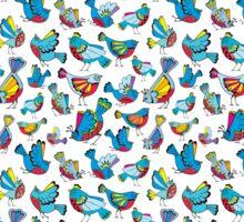 joy birds Sticker