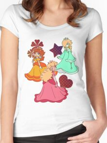 Three Princesses Women's Fitted Scoop T-Shirt