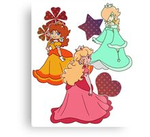 Three Princesses Metal Print