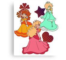 Three Princesses Canvas Print