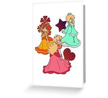Three Princesses Greeting Card