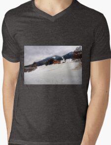 Saalbach, Austria Mens V-Neck T-Shirt