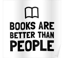 Books Better Than People Poster