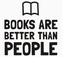 Books Better Than People Baby Tee