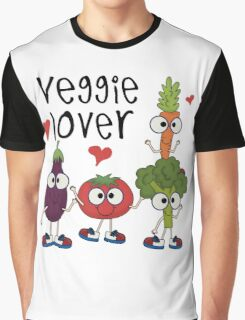Vegetables Vegetarian Veggie Lover Graphic T-Shirt