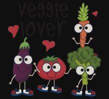 Vegetables Vegetarian Veggie Lover One Piece - Long Sleeve
