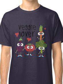 Vegetables Vegetarian Veggie Lover Classic T-Shirt