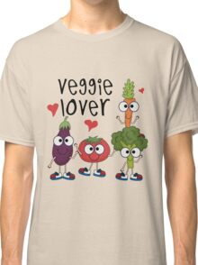 Vegetables Vegetarian Veggie Lover Classic T-Shirt
