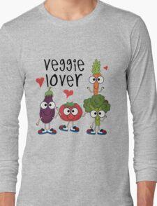 Vegetables Vegetarian Veggie Lover Long Sleeve T-Shirt
