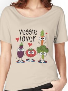 Vegetables Vegetarian Veggie Lover Women's Relaxed Fit T-Shirt