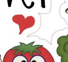 Vegetables Vegetarian Veggie Lover Sticker