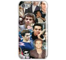Dylan O'Brien Collage iPhone Case/Skin
