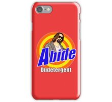ABIDE Dudetergent iPhone Case/Skin