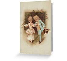 Wedding invitation Vintage illustration Greeting Card