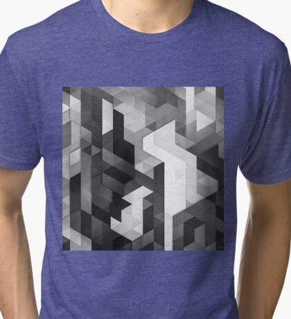 SCOPE 2 (MONOCHROME) Tri-blend T-Shirt