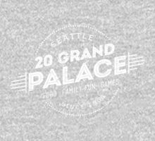20 Grand Palace (aged look) One Piece - Short Sleeve