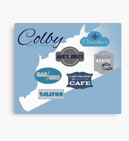 Visit Colby Canvas Print