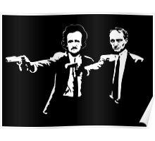 Literature Killers Pulp Fiction Poe Baudelaire Poster