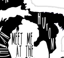 Meet Me At The Lake Sticker