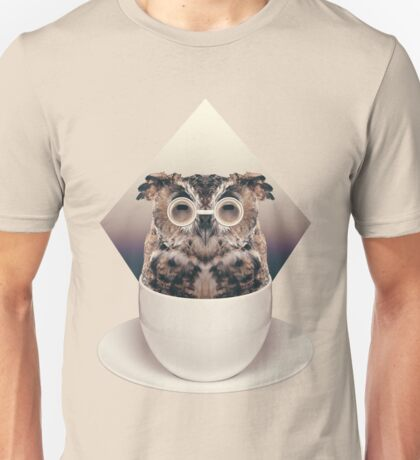 Caffeinimals: Owl T-Shirt