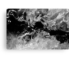 Frozen Illusion Canvas Print
