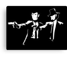 Lupin Jigen Pulp Fiction Lupin The Third Canvas Print