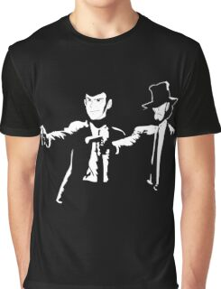 Lupin Jigen Pulp Fiction Lupin The Third Graphic T-Shirt