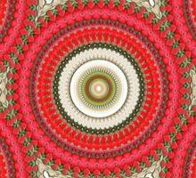 Spinning Wheels - red Sticker
