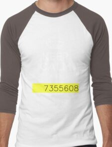 Keep Calm and 7355608 Men's Baseball ¾ T-Shirt