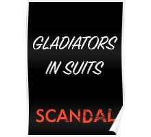 Gladiators in Suits Poster