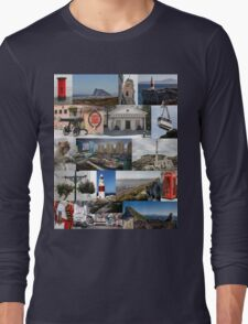 Gibraltar in Colour Long Sleeve T-Shirt