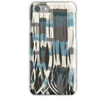 Abstract Graphic Ribbons iPhone Case/Skin