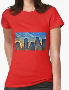 Minneapolis 4 Womens Fitted T-Shirt