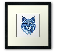 Maine Coon, Wild cat, Big cat Framed Print