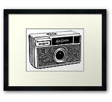 Argus-Lady Carefree Framed Print