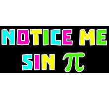 Notice Me Sin Pi Photographic Print