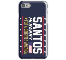 Santos and McGarry Campaign Rotated Design iPhone Case/Skin