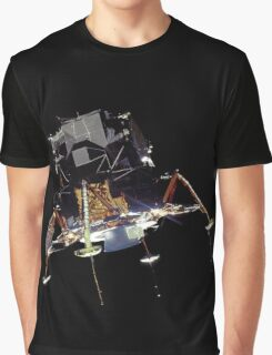 LEM to Moon Graphic T-Shirt