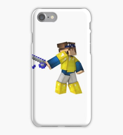 3D Minecraft character iPhone Case/Skin