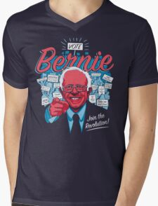 Bernie Sanders Revolution  Mens V-Neck T-Shirt