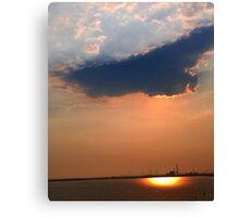 Italy skys Canvas Print